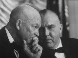President Dwight D. Eisenhower, Profile Close-Up Premium Photographic Print by Ed Clark