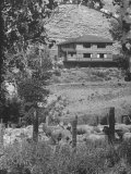 Writer Ernest Hemingway's Home in Sun Valley, About a Mile from Town of Ketchum Premium Photographic Print