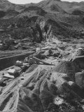 The Ethel Asbestos Mine on the Great Dike of Northern Rhodesia Premium Photographic Print