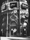 Department Store Carson Pirie Scott, One of Several Stores Afflicted by State Street Fire Photographic Print