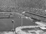 Opening Ceremonies at 1952 Olympic Games Premium Photographic Print by Ralph Crane