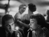 Bachelor Peter Davidson Smoking with Date Premium Photographic Print