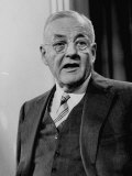 John Foster Dulles Speaking at a Press Conference Premium Photographic Print by Ed Clark