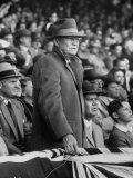 President Dwight D. Eisenhower at Opening Baseball Game of Season Premium Photographic Print