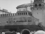 Tomb of Lenin and Stalin in Red Square Premium Photographic Print