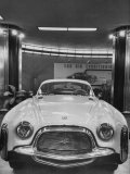 """Chrysler """"Special"""" Is an Experimental Model, Built in Italy, Standing in Showroom Premium Photographic Print"""