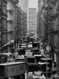 Congested Street in Soho Where More Than a Thousand Artists Live and Work in Huge Lofts Photographic Print by John Dominis