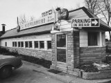 The Neal Pullman Diner, Owned by Neal Pullman Premium Photographic Print by Yale Joel