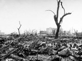 Hiroshima in Ruins Following the Atomic Bomb, Dropped at End of WWII Photographic Print by Bernard Hoffman