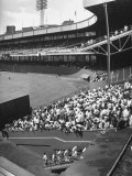 Scene from the Polo Grounds, During the Giant Vs. Dodgers Game Photographic Print by Yale Joel