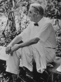 Dr. Albert Schweitzer on His 90th Birthday Photographic Print