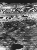 Moon's Surface Photographed from Lunar Orbiter Ii Fotodruck