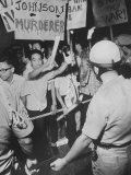 Philippine Students Protesting War in Vietnam Premium Photographic Print