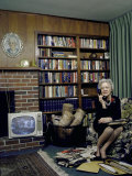 Senator Margaret Chase Smith in Her Home, Talking on the Telephone Photographic Print by Alfred Eisenstaedt