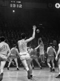 Nyu No. 3 Don Rorman Shooting Against Notre Dame Premium Photographic Print