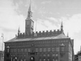 Town Hall in the City of Copenhagen Premium Photographic Print