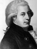 Austrian Composer Wolfgang Amadeus Mozart Photographic Print