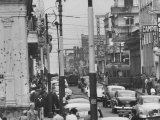 Street Scene Premium Photographic Print
