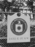 Old CIA Building Premium Photographic Print by Ed Clark
