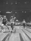 Captain of Cincinnati University Oscar Robertson During Game with St. Joseph's College Premium Photographic Print by Yale Joel