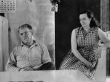 Couple Living in a Small Town Where Alleged Mass Murder Ed Gein Went on a Killing Spree Premium Photographic Print