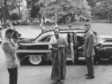 Prime Minister of Ghana, Kwame Nkrumah Arriving at the White House Premium Photographic Print by Ed Clark