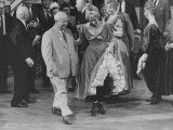Nikita S. Khrushchev with Shirley Maclaine in Hollywood Premium Photographic Print