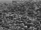 Aerial View of a City Premium Photographic Print