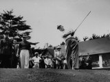 Dwight D. Eisenhower at Ottowa Hunt Club Playing Golf Premium Photographic Print