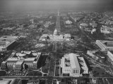 View of the Capitol Building Photographic Print