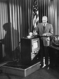President Dwight D. Eisenhower at the Opening of the Shippingport Reactor Premium Photographic Print