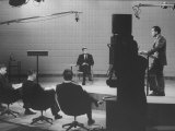 Richard M. Nixon and John F. Kennedy TV Debate Premium Photographic Print