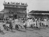 Pre-Independence Pageant at Race Track of Lagos, the Capitol Premium Photographic Print