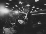 Robert F. Kennedy Giving Speech Premium Photographic Print