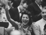 Sen. John F. Kennedy's Sister, Mrs. Peter Lawford, at the 1960 Democratic National Convention Premium Photographic Print by Ed Clark