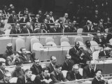 United Nations Gen. Assembly Session During Nikita S. Khrushchev's Visit Premium Photographic Print