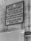 Alcatraz Prison Premium Photographic Print