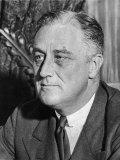 US President Franklin D. Roosevelt Photographic Print