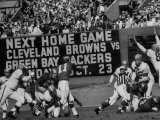 Eagles-Browns Football Game Premium Photographic Print