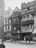 Newspaper Publishers Housed on Fleet Street Premium Photographic Print