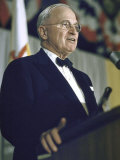 Former Pres. Truman Speaking at Democratic Party Conference Premium Photographic Print by John Dominis