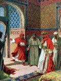 "Valda's Painting of Abu Abdullah known as ""The Unfortunate,"" the Last Moorish King of Grenada Photographic Print"