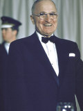 Former Pres. Truman at Democratic Party Conference Premium Photographic Print by John Dominis