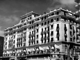Exterior of the Copacabana Palace Hotel Premium Photographic Print