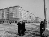 People Walking around on Stalinalle Photographic Print