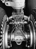 Landing Gear of a New Boeing 707 Jet Photographie