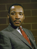 Portrait of Rev. Martin Luther King, Jr Premium Photographic Print