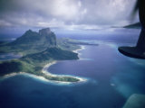 Island of Bora Bora; Part of South Seas Photo Essay Premium Photographic Print