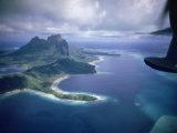 Island of Bora Bora; Part of South Seas Photo Essay Premium Photographic Print