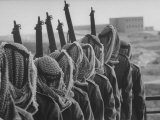 Arab Legion Standing in Formation Photographic Print